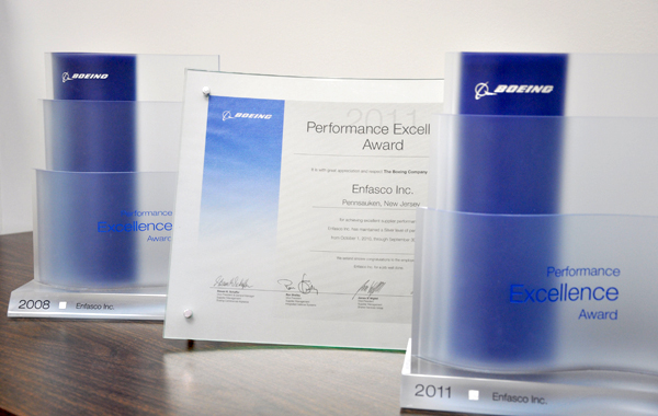 Boeing Excellence Award